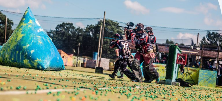 Dritte Paintball Bundesliga in Burg
